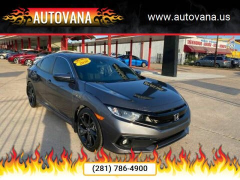 2020 Honda Civic for sale at AutoVana in Humble TX