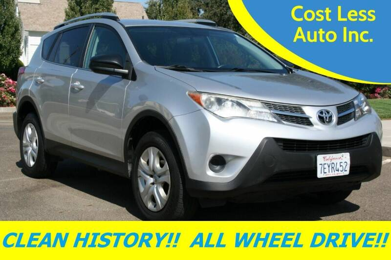 2014 Toyota RAV4 for sale at Cost Less Auto Inc. in Rocklin CA