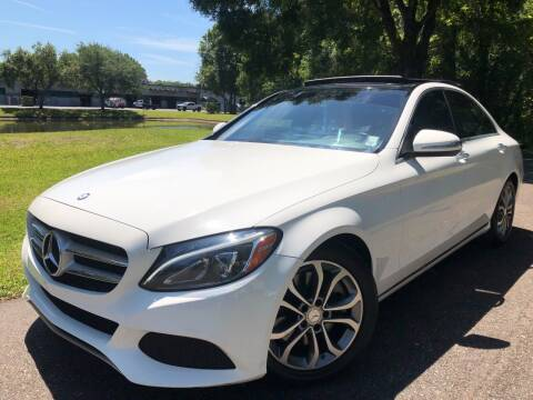 2015 Mercedes-Benz C-Class for sale at Powerhouse Automotive in Tampa FL