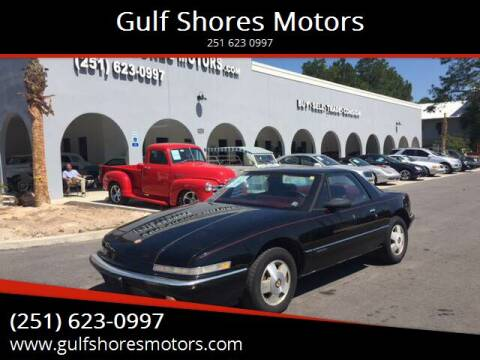 1989 Buick Reatta for sale at Gulf Shores Motors in Gulf Shores AL