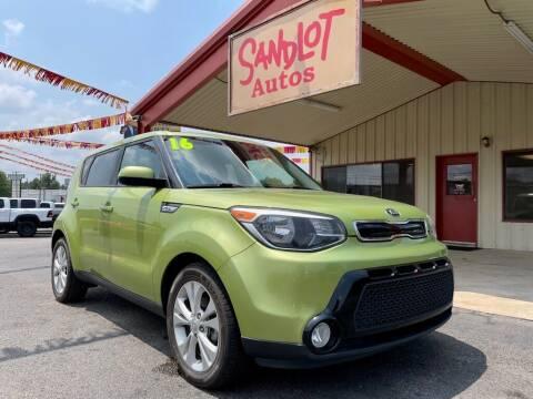 2016 Kia Soul for sale at Sandlot Autos in Tyler TX
