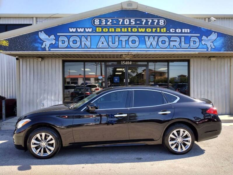 2012 Infiniti M37 for sale at Don Auto World in Houston TX