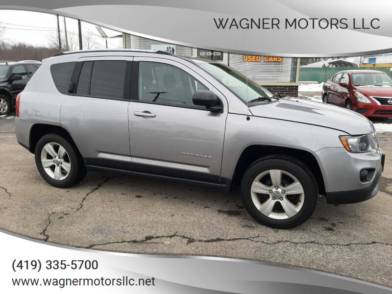 2016 Jeep Compass for sale at Wagner Motors LLC in Wauseon OH