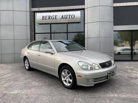 2003 Lexus GS 300 for sale at Berge Auto in Orem UT