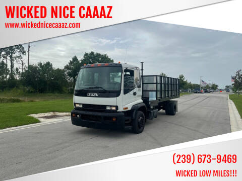 2007 Isuzu FTR for sale at WICKED NICE CAAAZ in Cape Coral FL