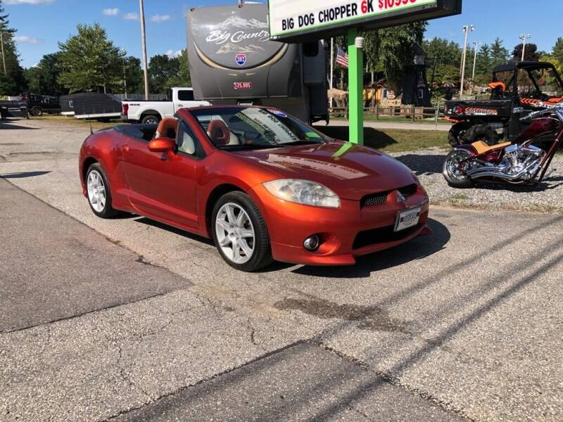 2007 Mitsubishi Eclipse Spyder for sale at Giguere Auto Wholesalers in Tilton NH