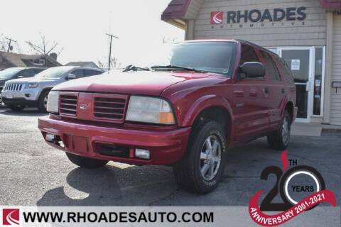 2000 Oldsmobile Bravada for sale at Rhoades Automotive in Columbia City IN