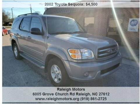 2002 Toyota Sequoia for sale at Raleigh Motors in Raleigh NC