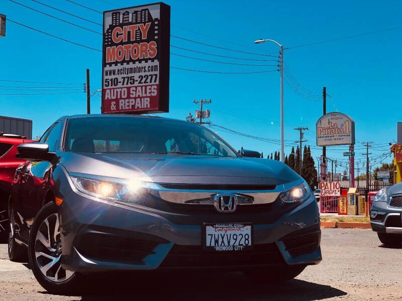 2017 Honda Civic for sale at City Motors in Hayward CA