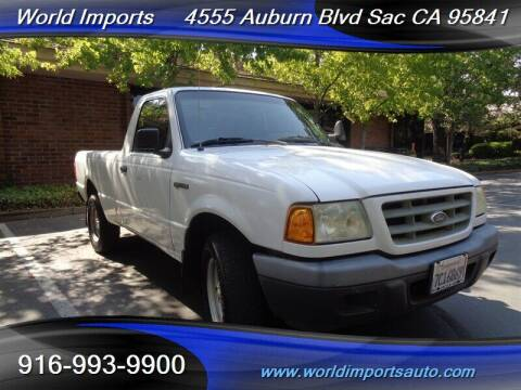 2003 Ford Ranger for sale at World Imports in Sacramento CA