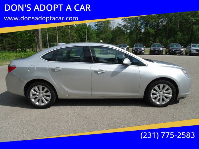 2017 Buick Verano for sale at DON'S ADOPT A CAR in Cadillac MI
