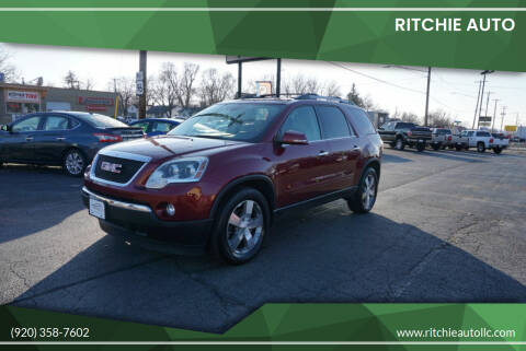 2011 GMC Acadia for sale at Ritchie Auto in Appleton WI