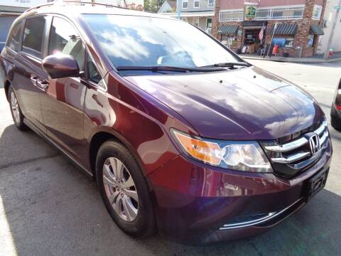 2014 Honda Odyssey for sale at Best Choice Auto Sales Inc in New Bedford MA