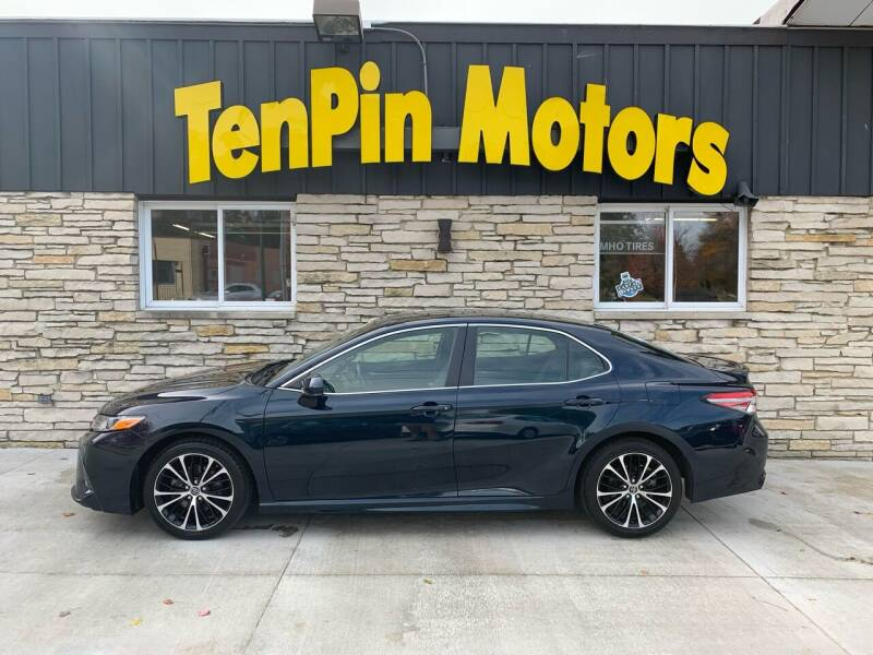 2018 Toyota Camry for sale at TenPin Motors LLC in Fort Atkinson WI