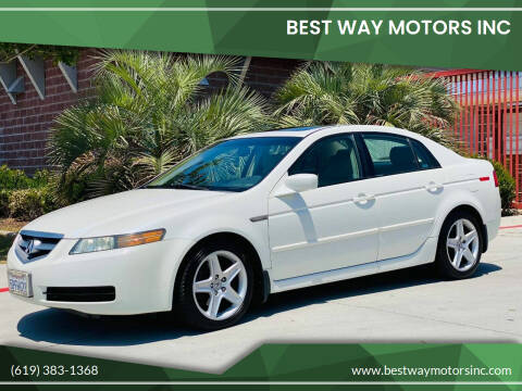 2005 Acura TL for sale at BEST WAY MOTORS INC in San Diego CA