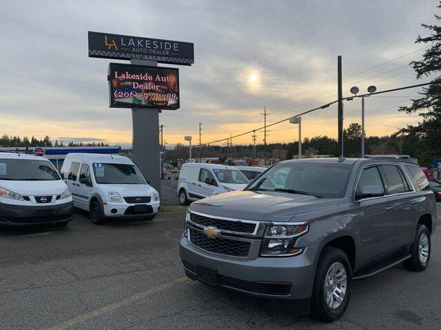 2019 Chevrolet Tahoe for sale at Lakeside Auto in Lynnwood WA