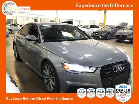 2018 Audi A6 for sale at Dallas Auto Finance in Dallas TX