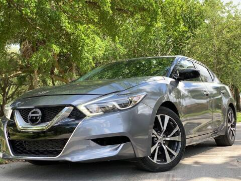 2017 Nissan Maxima for sale at HIGH PERFORMANCE MOTORS in Hollywood FL