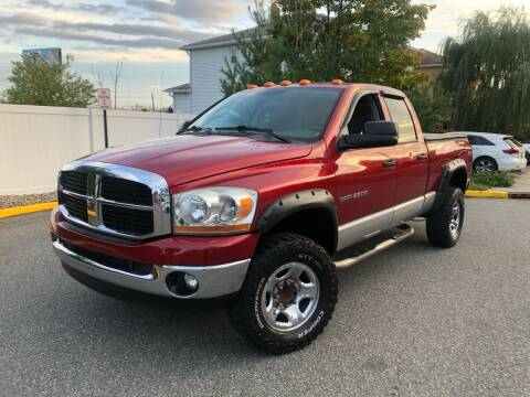 2006 Dodge Ram Pickup 2500 for sale at Giordano Auto Sales in Hasbrouck Heights NJ