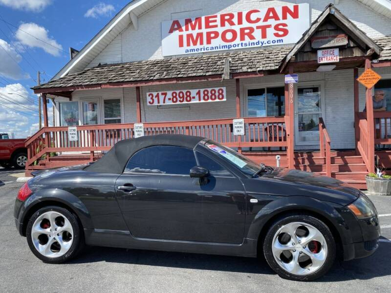 2001 Audi TT for sale at American Imports INC in Indianapolis IN