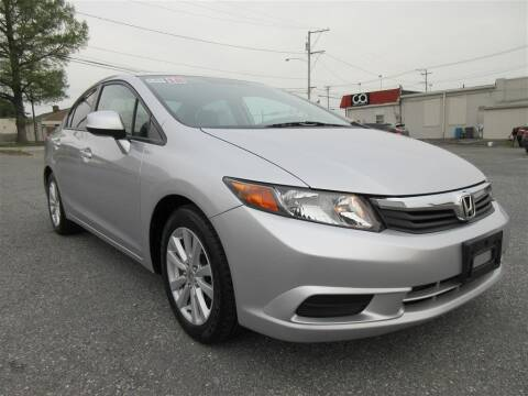 2012 Honda Civic for sale at Cam Automotive LLC in Lancaster PA