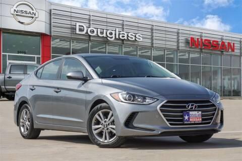 2018 Hyundai Elantra for sale at Douglass Automotive Group - Douglas Nissan in Waco TX