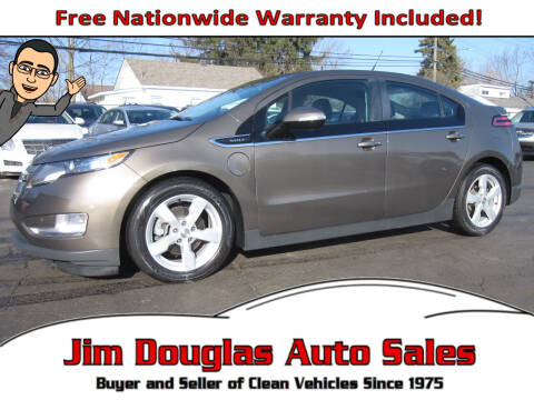 2014 Chevrolet Volt for sale at Jim Douglas Auto Sales in Pontiac MI