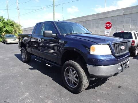 2006 Ford F-150 for sale at DONNY MILLS AUTO SALES in Largo FL