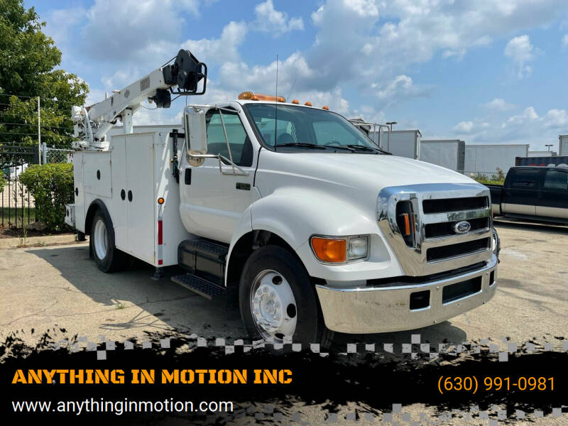2006 Ford F-650 Super Duty for sale at ANYTHING IN MOTION INC in Bolingbrook IL