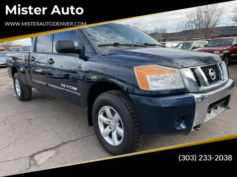2008 Nissan Titan for sale at Mister Auto in Lakewood CO