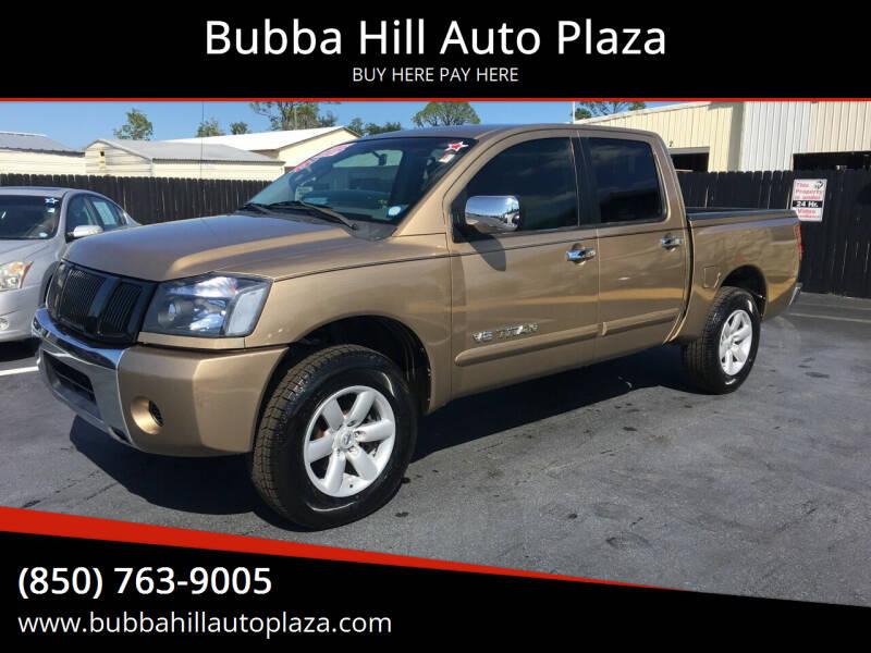 2005 Nissan Titan for sale at Bubba Hill Auto Plaza in Panama City FL