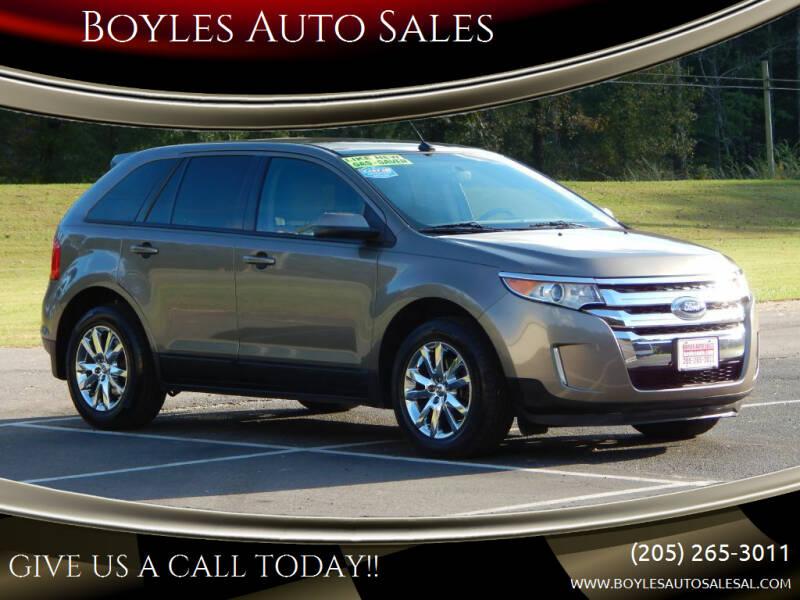 2013 Ford Edge for sale at Boyles Auto Sales in Jasper AL