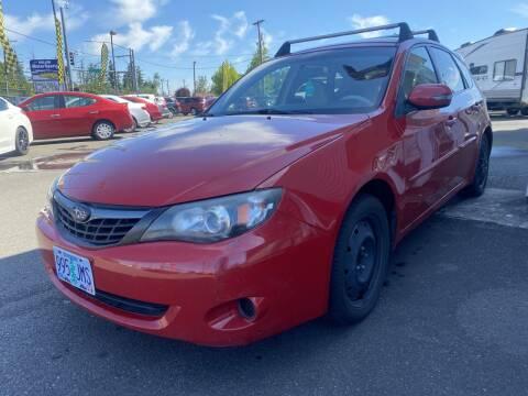 2008 Subaru Impreza for sale at Salem Motorsports in Salem OR