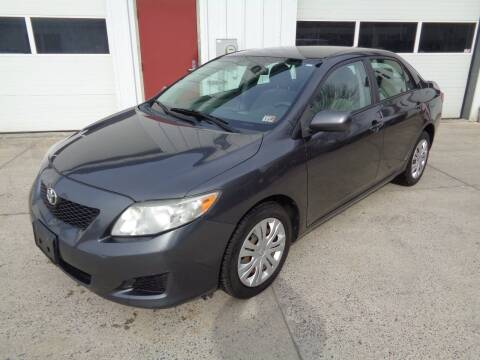 2009 Toyota Corolla for sale at Lewin Yount Auto Sales in Winchester VA