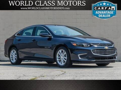 2017 Chevrolet Malibu for sale at World Class Motors LLC in Noblesville IN