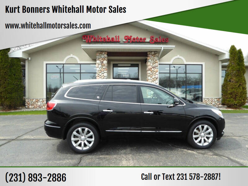 2017 Buick Enclave for sale at Kurt Bonners Whitehall Motor Sales in Whitehall MI