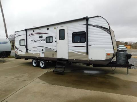 2014 Forest River Wildwood for sale at Motorsports Unlimited in McAlester OK