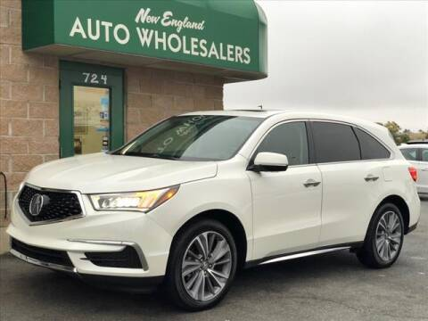 2017 Acura MDX for sale at New England Wholesalers in Springfield MA
