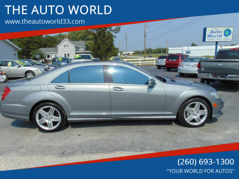 2013 Mercedes-Benz S-Class for sale at THE AUTO WORLD in Churubusco IN