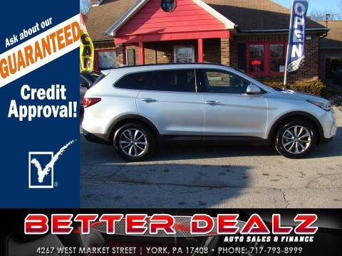 2017 Hyundai Santa Fe for sale at Better Dealz Auto Sales & Finance in York PA