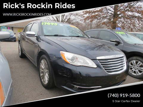 2012 Chrysler 200 for sale at Rick's Rockin Rides in Reynoldsburg OH