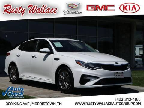 2019 Kia Optima for sale at RUSTY WALLACE CADILLAC GMC KIA in Morristown TN