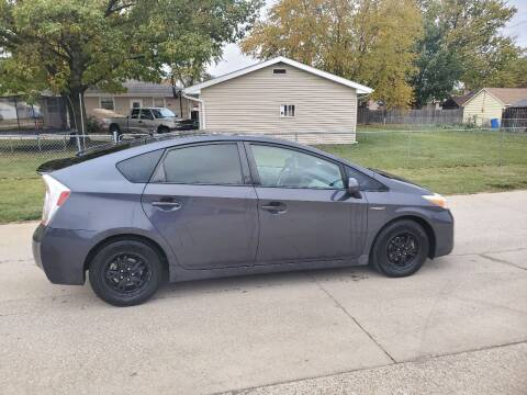 2012 Toyota Prius for sale at RIVERSIDE AUTO SALES in Sioux City IA