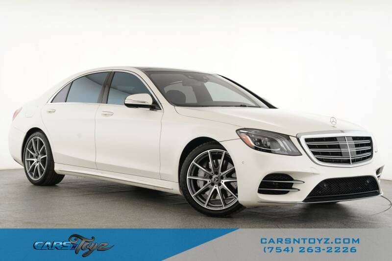 2018 Mercedes-Benz S-Class for sale in Hollywood, FL