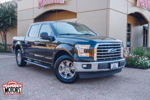 2017 Ford F-150 for sale at Mcandrew Motors in Arlington TX