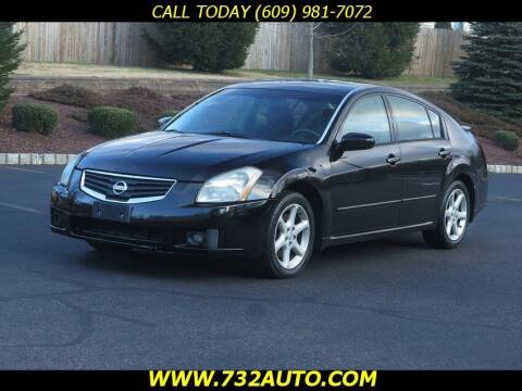 2007 Nissan Maxima for sale at Absolute Auto Solutions in Hamilton NJ