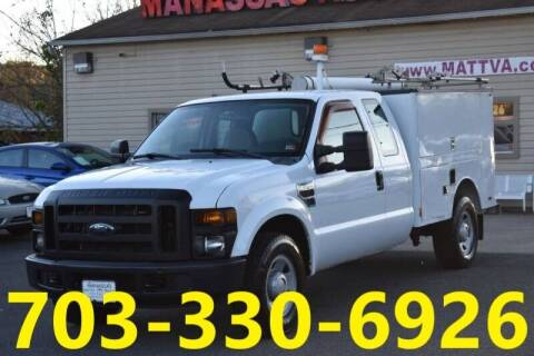 2009 Ford F-250 Super Duty for sale at MANASSAS AUTO TRUCK in Manassas VA