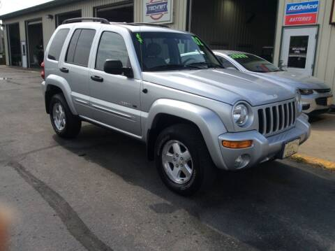 2002 Jeep Liberty for sale at TRI-STATE AUTO OUTLET CORP in Hokah MN