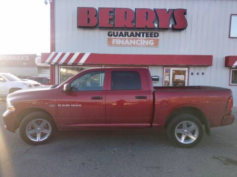 2012 RAM Ram Pickup 1500 for sale at Berry's Cherries Auto in Billings MT
