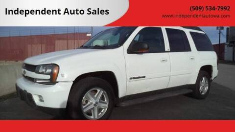 2003 Chevrolet TrailBlazer for sale at Independent Auto Sales #2 in Spokane WA